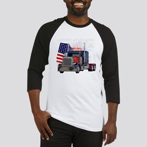 2-Am_Dark_Peterbilt_CP Baseball Jersey